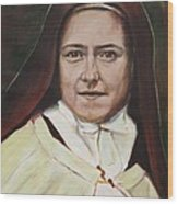 St. Therese Of Lisieux Wood Print