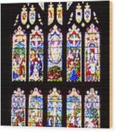St Thomas The Apostle Church Heptonstall Wood Print