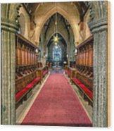 St Twrog Church Wood Print