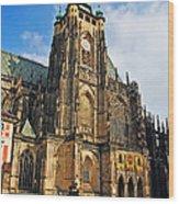 St. Vitus Cathedral Wood Print