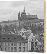 St. Vitus Cathedral Prague Wood Print