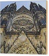 St Vitus Church In Hradcany Prague Wood Print by Jelena Jovanovic
