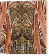 St Wendel Basilica Organ Wood Print