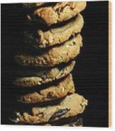 Stack Of Cookies Wood Print