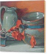 Stacked Bowls #4 Wood Print