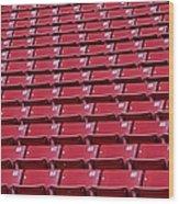 Stadium Seating Wood Print