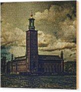 Stadshuset Wood Print