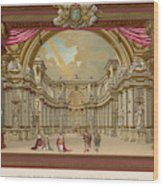 Stage-set Designs For  Productions Wood Print