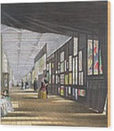 Stained Glass Gallery, From Dickinsons Wood Print