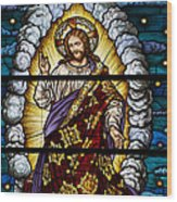 Stained Glass Pc 04 Wood Print