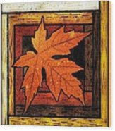 Stained Glass Template Since I Fell For You Wood Print