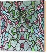 Stained Glass Window -2 Wood Print