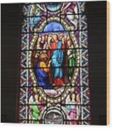 Stained Glass Window Viii Wood Print