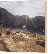 Stair Hole Cove Dorset Wood Print