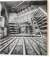 Staircase I Wood Print
