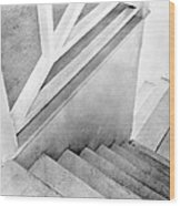 Staircase, Mexico City, C.1924 Wood Print