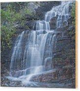 Staircase Waterfall Wood Print