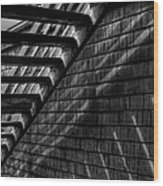 Stairs Wood Print by David Patterson