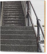 Stairs To A Better Life Wood Print