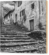 Stairs To Lavertezzo Wood Print