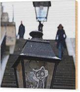 Stairs To Sacre Coeur2 Wood Print