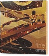 Stairs To The Stars Wood Print