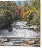 Stairway Falls Wood Print