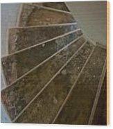 Stairway Wood Print