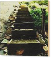 Stairway To Happiness Wood Print