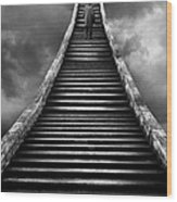 Stairway To Heaven Wood Print