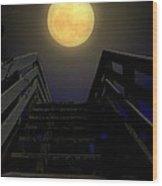 Stairway To Heaven Wood Print by Laura Ragland