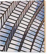 Stairway To Heaven Wood Print by Rona Black