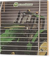 Stairway To John Deere Heaven Wood Print by Janice Rae Pariza