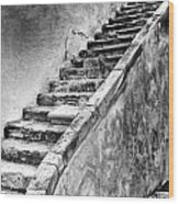 Stairway To Nowhere Wood Print