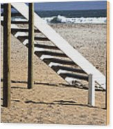 Stairway To Summer  Wood Print