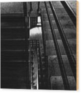 Stairwell Wood Print by Bob Orsillo