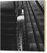Stairwell Wood Print