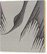 Stalactites Overhead Wood Print