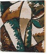 Stalking Bear Wood Print