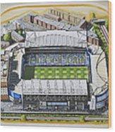 Stamford Bridge - Chelsea Wood Print