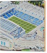Stamford Bridge Stadia Art - Chelsea Fc Wood Print