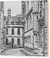 Stamford Uk 4 Wood Print