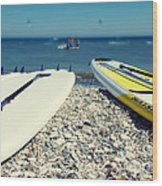 Stand Up Paddle Boards Wood Print