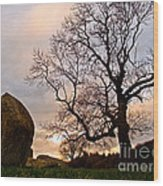 Standing Stones, England Wood Print