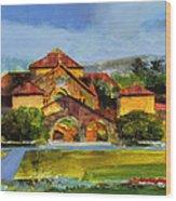 Stanford Chapel Wood Print