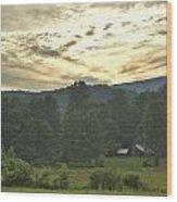 Stanley Cabin 2 Wood Print