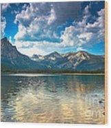 Stanley Lake Wood Print