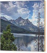 Stanley Lake View Wood Print