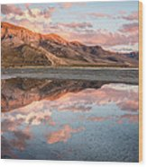 Stansbury Reflections Wood Print