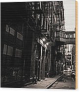 Staple Street - Tribeca - New York City Wood Print by Vivienne Gucwa